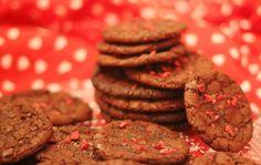 Makeita nutella-suklaakeksejä.