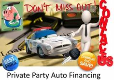 Private Party Auto Loan Interest Rates