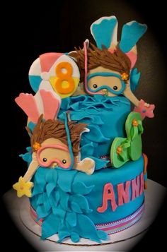 - Pool Party cake
