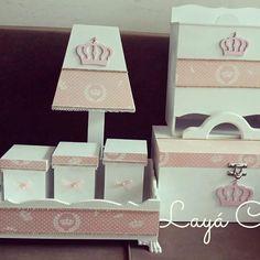 Kit higiene para uma princesa. #kithigiene #kithigienebebe #kithigienepersonalizado #kithigienemdf