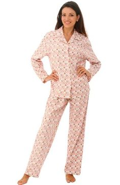 http://www.yearofstyle.com/del-rossa-womens-100-cotton-flannel-pajama-set-long-pjs/