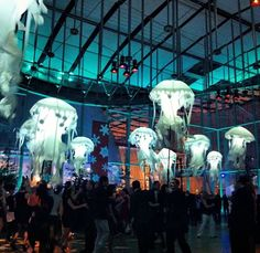 OMG Jellyfish Wedding Rentals: Add something fun, whimsical and affordable to your wedding ceremony or reception. i WISH we could afford to have these!