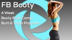 New: FB's Booty Boot Camp - 4 Week Butt & Thigh Program - Booty building, butt lifting, thigh toning plan that will leave you with a killer lower body + reduced body fat, improved cardio endurance, increased lean muscle mass, functional strength & flexibility. This 4 week plan uses 3 intense workouts/week to reshape your lower body & bring quick changes to your overall fitness level. Strength training & HIIT are the main training styles. Workouts are 3 days/week, 38 mins/day. Dumbbells…