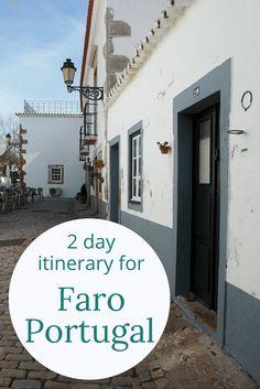 Adoration 4 Adventure's 2 day itinerary for Faro, Algarve, Portugal. Including Ilha Deserta, Faro Beach, and many Portuguese culinary delights.