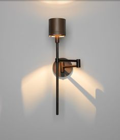 Ventoux Swing Arm Sconce by Jonathan Browning