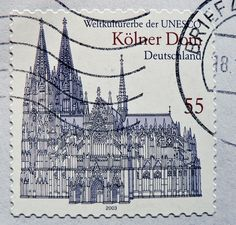 https://flic.kr/p/7RteZ3 | stamp Germany 55c Cologne Cathedral Kölner Dom postes timbres Allemagne Cathédrale de Cologne Timbre postal postage 55c pf selo Alemanha sello postal Alemania Catedral de Colonia pullar Alemanya francobolli bollo Germany Briefmarke Deutschland franco port | *** *** *** I'm stampolina and I love to take photos of stamps. Thanks for visiting this pages on flickr.  I'm neither a typical collector of stamps, nor a stamp dealer. I'm only a stamp photograph. I'm…