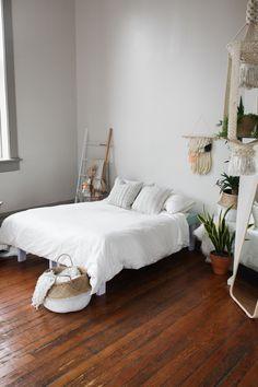 Home Series // Cozy Bright Bedroom — Treasures & Travels