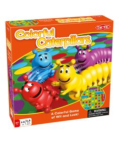Look at this Colorful Caterpillars Game on #zulily today!