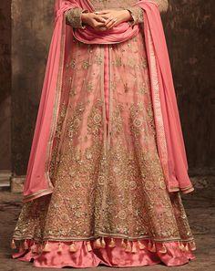 Pakistani Dresses Online, Indian Gowns Dresses, Party Wear Lehenga, Party Wear Dresses, Wedding Dress Chiffon, Wedding Wear, Wedding Dresses, Anarkali Lehenga, Saree Gown