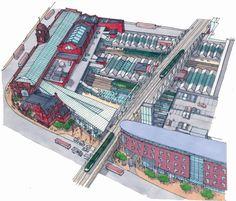 architectureofhappiness:  Nottingham Train Station Regeneration Plans - Architects: BDP