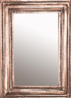 rustic copper mirror