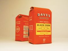 Dave's Coffee — The Dieline - Package Design Resource