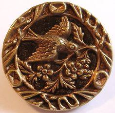 vintage buttons   Antique Perfume Buttons