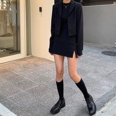 Trendy Outfits, Fall Outfits, Cute Outfits, Fashion Outfits, Womens Fashion, Aesthetic Fashion, Aesthetic Clothes, Looks Dark, Mode Style