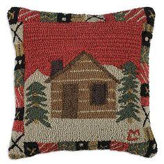 crow's nest cabin pillow