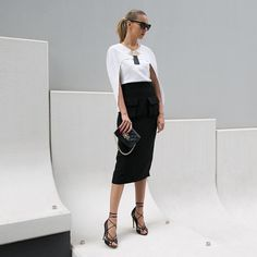 Elegant classics today with another fav from @friendofaudrey latest collection  by thetrendspotter