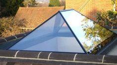 Roof Lantern Glass Skylight For Flat Roof Sliding Patio Doors, Sliding Glass Door, Shingle Colors, Roof Lantern, Cool Roof, Roof Window, Roof Architecture, Roof Styles, Roof Light