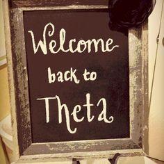 Welcome back to Theta