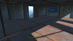 Fallout 4 Settlement Ideas The Castle fill in the broken walls with a room (interior)