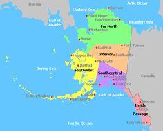 Alaska Wine Regions