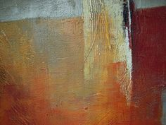 Color Inspiration: gold, orange, red....Abstract Painting