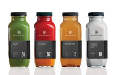 Sophisticated Raw Juice Branding : Raw Juice