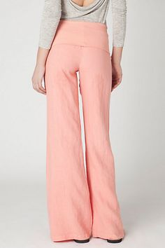 harris linen pants from Anthropologie