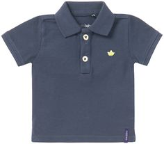 This boys' baby polo shirt Firenze by Noppies comes with classic features such as a collar, button fastening, short sleeves and has an emblem on the chest. Made from pique fabric and with ribbed hems.
