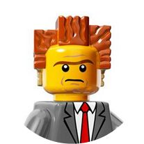 The Lego Movie - President Business