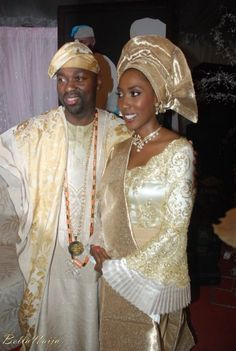 Nigerian Traditional Wedding, Traditional Wedding Attire, African Traditional Dresses, African Wedding Attire, African Attire, African Inspired Fashion, African Fashion, African Beauty, African Wear Styles For Men