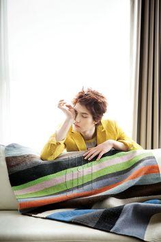 CNBlue Jonghyun for Elle Girl