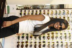 Adeline Lejoyeux, candidate N°3 (Solaires Gucci, modèle disponible chez Optique de Bourbon)