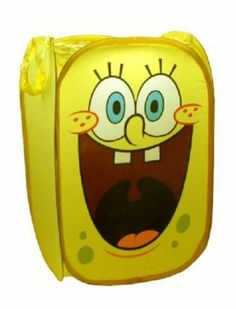 "Vogue Spongebob Squarepants Pop-Up Room Tidy ""styles may vary"": Amazon.co.uk: Toys & Games"