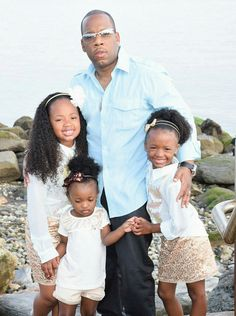 Michael Bivins with his Supremes. Black Fathers, Fathers Love, Daddys Little Girls, Daddys Girl, Black Love, Black Is Beautiful, Black Men, Black Celebrities, Celebs