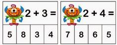 Tables d'addition – Modern Design - Modern File Folder Activities, Kindergarten Math Activities, Montessori Math, Homeschool Math, Teaching Math, Fun Activities, Table Addition, Math Addition, Addition And Subtraction