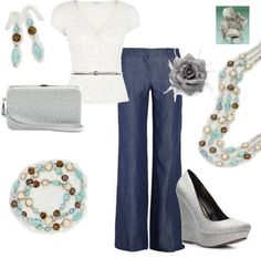 """""""Las Colinas"""" necklace, earrings, and bracelet. """"Magnolia"""" ring. (Premier Designs Jewelry)"""