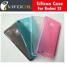 For Xiaomi Redmi 3S TPU Case Matte Soft silicon Protective Back Cover For Xiaomi Redmi 3S Pro / Prime 3 5.0inch - In Stock