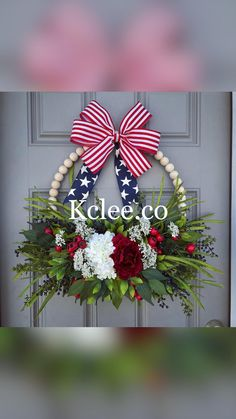 Wreath Crafts, Decor Crafts, Wreaths For Front Door, Door Wreaths, Wooden Wreaths, Seasonal Decor, Holiday Decor, Summer Wreath, How To Make Wreaths
