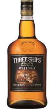 Three Ships South African Whisky, Bourbon Cask Finish. Thank you @ohsweetbetty!