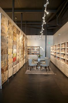 Stark Home LA Showroom, for designer selections of carpets, rugs, fabrics, and wallcoverings. #StarkTouch #InteriorDesign #DesignInspiration