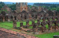 Jesuit ruins - Encarnacion, Paraguay (November 2004)