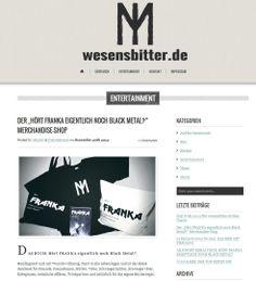 Übersichtliches #Blog #Design auf www.wesensbitter.de optimiert für #Web und #mobile #Endgeräte • Weitere Informationen zu unseren Leistungen finden Sie unter http://www.blickedeeler.de/leistungen/social-media-marketing/ #socialmedia #corporate #design #networking