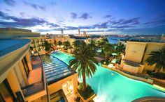 The best luxury boutique hotels for fashionistas: Palazzo Versace on the Gold Coast