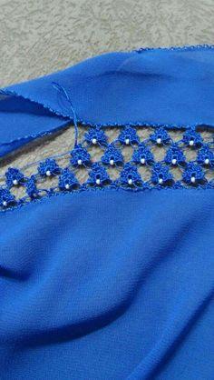 Crochet lace and trim Filet Crochet, Crochet Borders, Crochet Flower Patterns, Crochet Trim, Crochet Designs, Crochet Lace, Crochet Stitches, Crochet Freetress, Diy Crafts Crochet