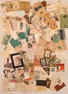 Vintage Ephemera Paper Lot 150 Pieces 1870 1960 New England Area Stuff Old   eBay