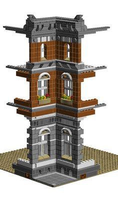 Modular Building Corner Inverter - Town Hall