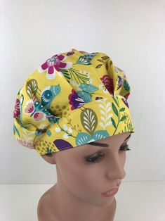 Medical Work Wear & Uniforms 2019 New Style Surgical Caps Medical Hat Adjustable Cute Cat Printing For Men Women With Sweatband Cotton Hospital Pet Doctor Hats Medical Caps