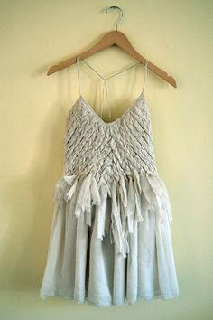 loopycrafty:  braided dress // by FreeApples on Etsy