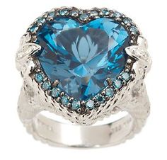 The Blue HeartDiamond. It is the world's second largest and finest dark-blue diamond and weighs 30.62 carats, about two-thirds the size of the Hope Diamond. It was found in the Premiere Mine in South Africa in November 1908.   Merriweather Post acquired the original from Harry Winston before donating it to the Smithsonian.