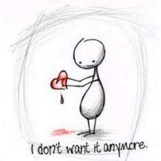 so sad it's sweet.